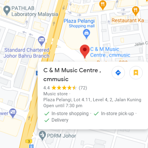 C&M Music - Plaza Pelangi Level 4