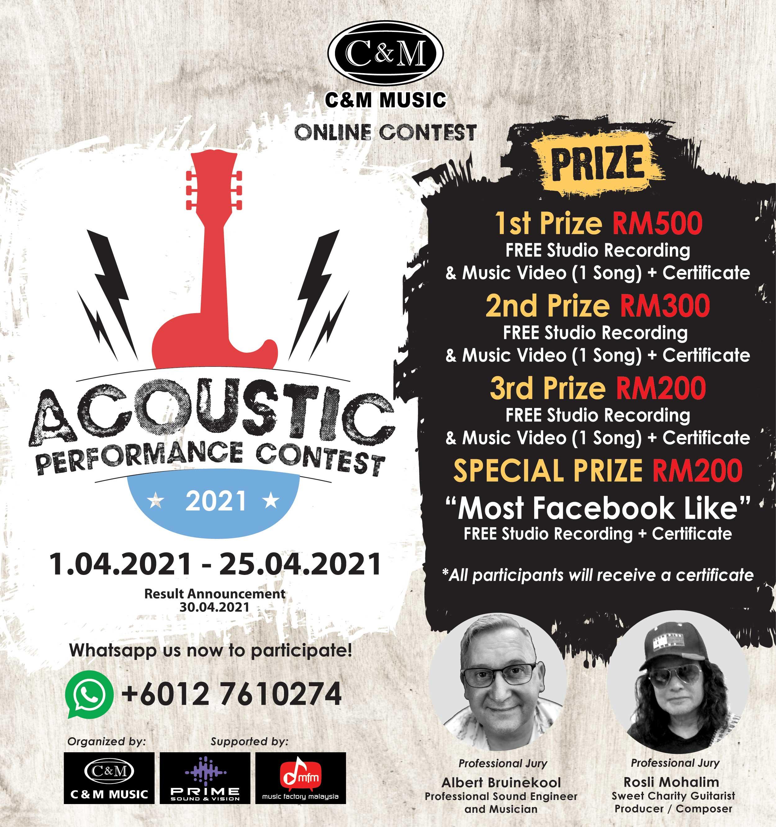 C&M Acoustic Performance Contest